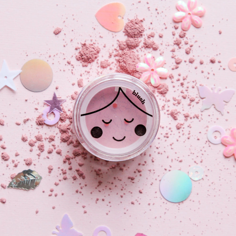 No Nasties Dusty Pink Blush All-Natural Play Makeup