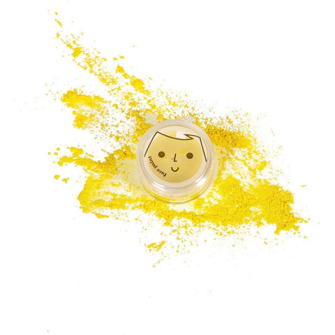 Yellow No Nasties Fun Face Paint (Individual Pots - Multiple Colours) - Naked Baby Eco Boutique