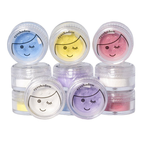 No Nasties All-Natural Shimmery Eye Shadow comes in 6 gorgeous colours