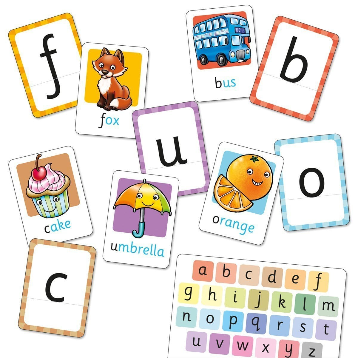 Orchard Toys Alphabet Flashcards - Naked Baby Eco Boutique
