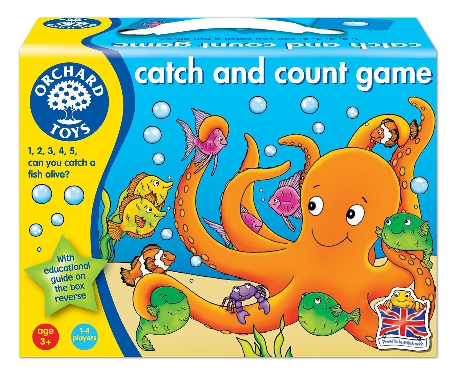 Orchard Toys Catch and Count Game - Naked Baby Eco Boutique