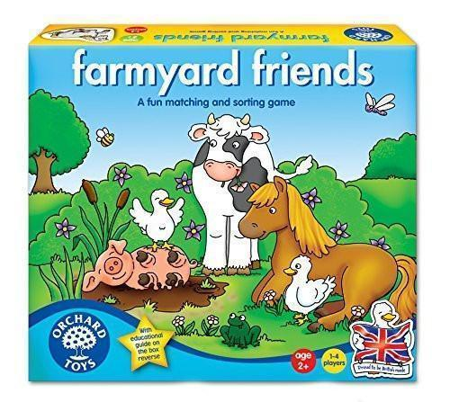 Orchard Toys Farmyard Friends Game - Naked Baby Eco Boutique