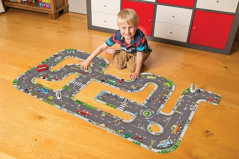 Orchard Toys Giant Railway Jigsaw Puzzle - Naked Baby Eco Boutique - New Zealand Eco Friendly Organic Baby Products - 4