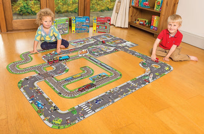 Orchard Toys Giant Railway Jigsaw Puzzle - Naked Baby Eco Boutique