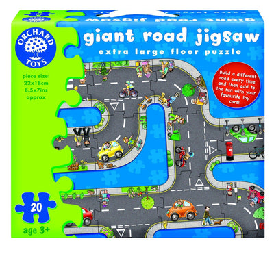 Orchard Toys Giant Road Jigsaw Puzzle - Naked Baby Eco Boutique