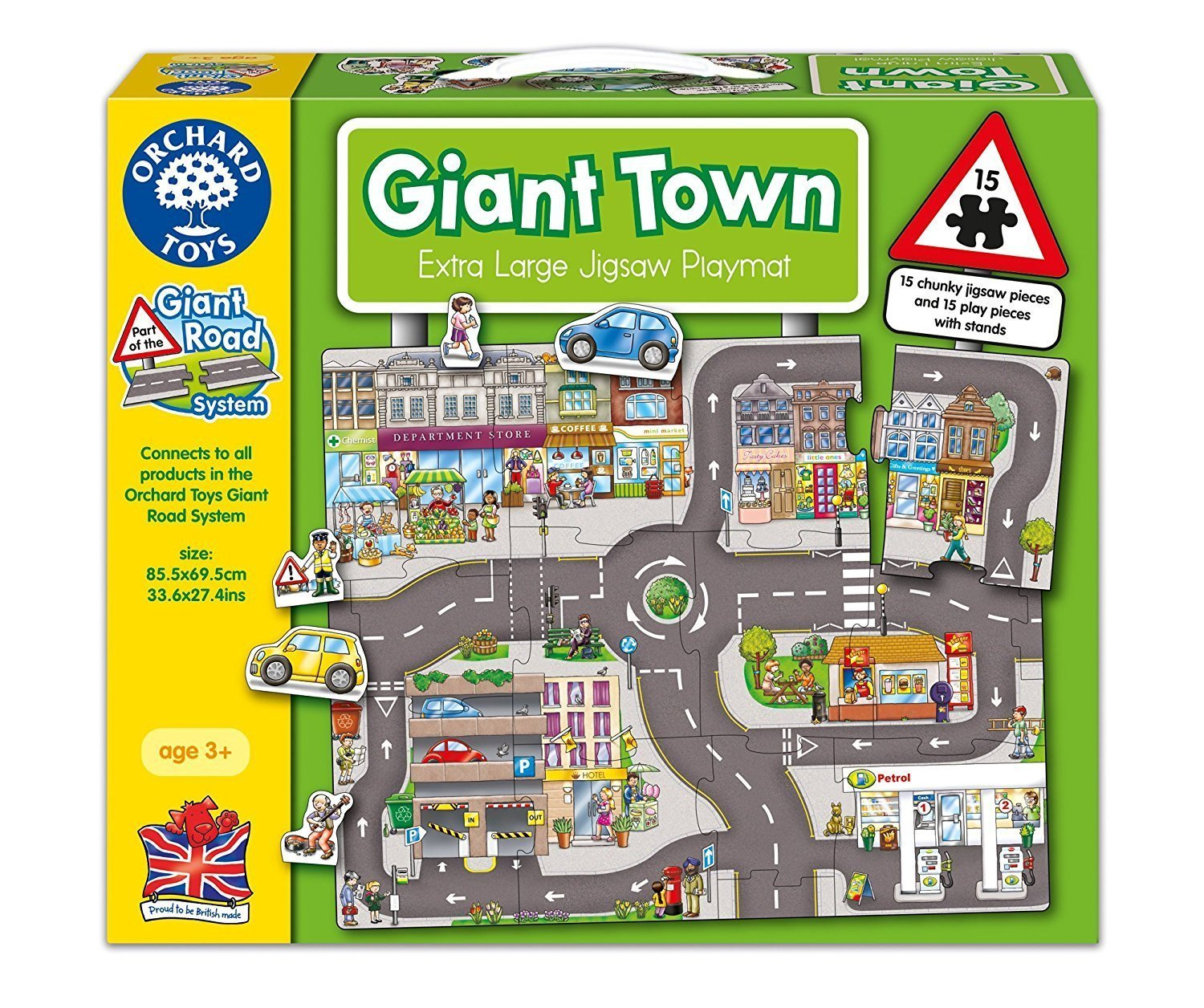 Orchard Toys Giant Town Jigsaw Puzzle - Naked Baby Eco Boutique