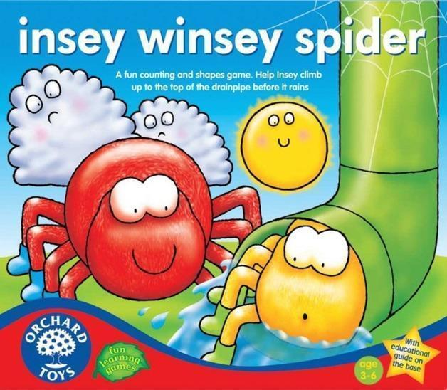 Orchard Toys Insey Winsey Spider Game - Naked Baby Eco Boutique