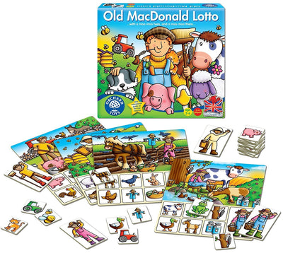 Orchard Toys Old MacDonald Lotto Game - Naked Baby Eco Boutique