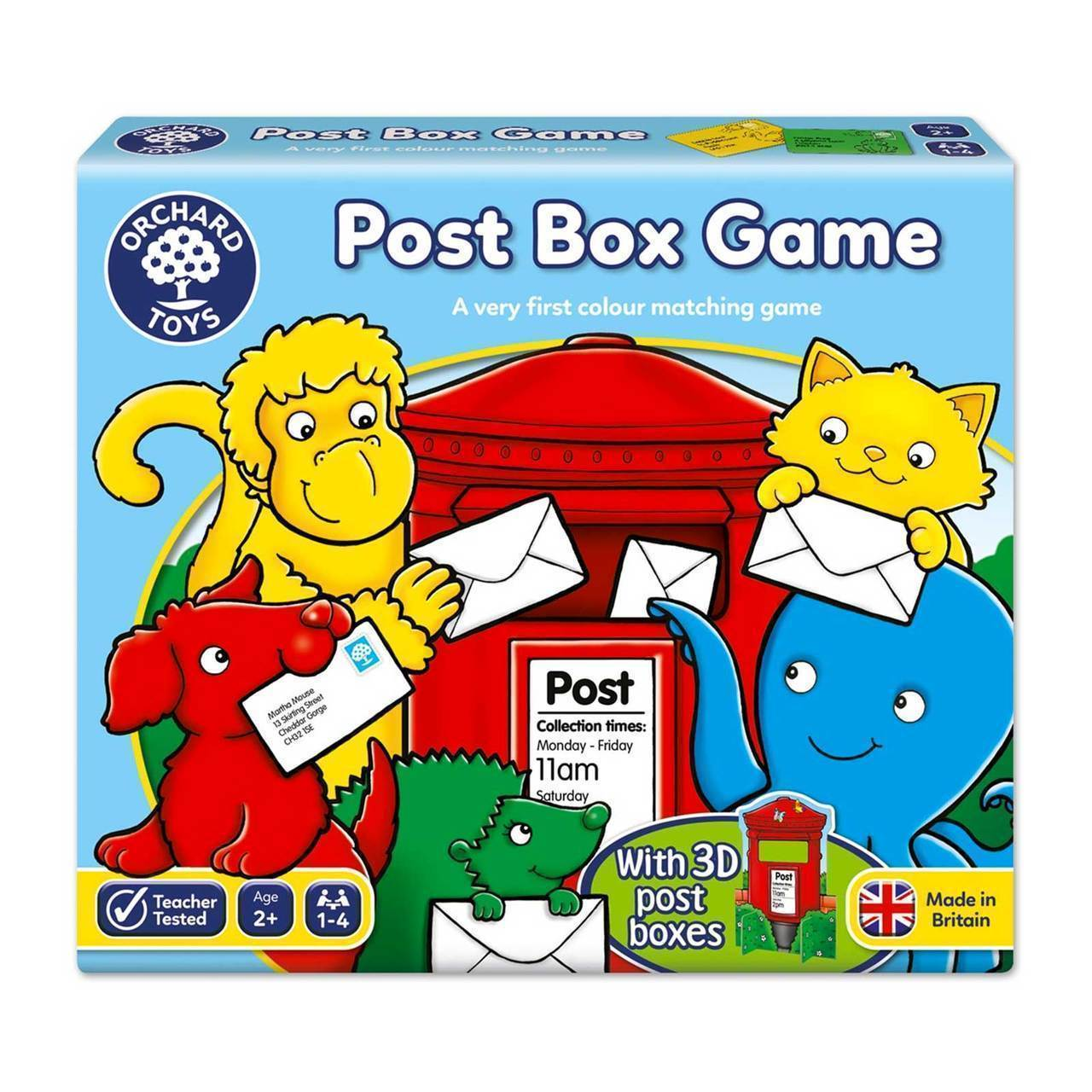 Orchard Toys Post Box Game - Naked Baby Eco Boutique