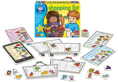 Orchard Toys Shopping List Game - Naked Baby Eco Boutique - New Zealand Eco Friendly Organic Baby Products - 2