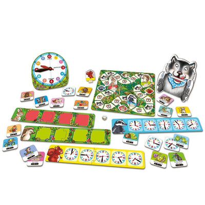 Orchard Toys What's the Time, Mr. Wolf Game - Naked Baby Eco Boutique