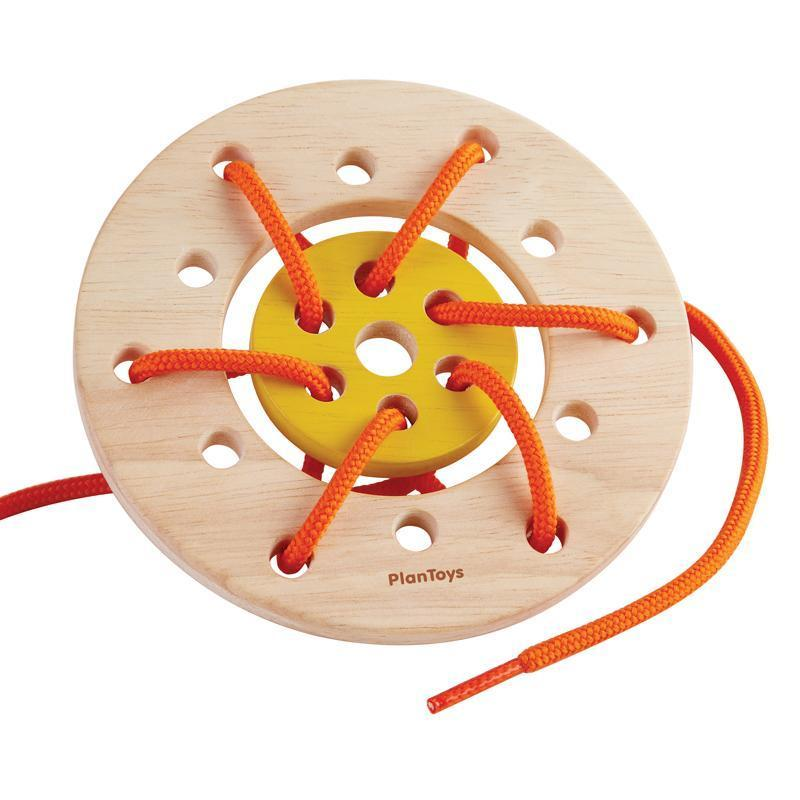 Plan Toys Lacing Ring - Naked Baby Eco Boutique