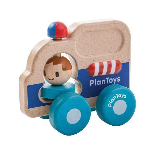 Plan Toys Rescue Car - Naked Baby Eco Boutique