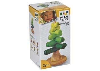 Plan Toys Stacking Tree - Naked Baby Eco Boutique