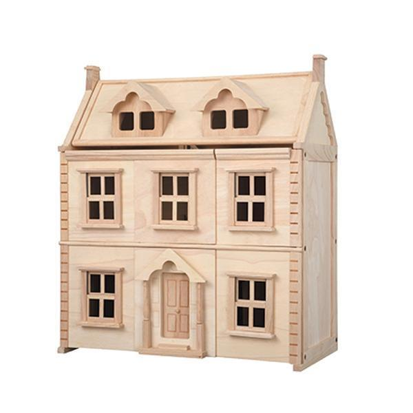 Plan Toys Victorian Wooden Dollhouse - Naked Baby Eco Boutique