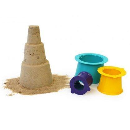 Quut Alto Stackable Sandcastle - Naked Baby Eco Boutique