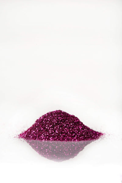 Purple Red Glitter Snails Non-Toxic Washable Natural Nail Glitter - Naked Baby Eco Boutique