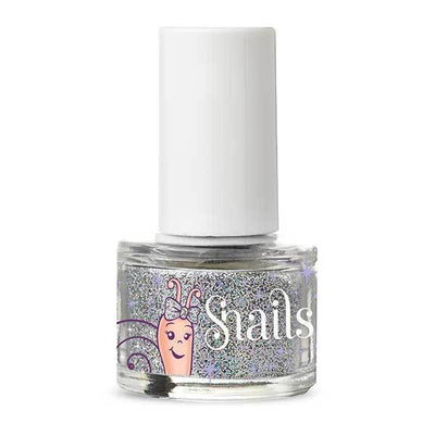 Purple Blue Glitter Snails Non-Toxic Washable Natural Nail Glitter - Naked Baby Eco Boutique