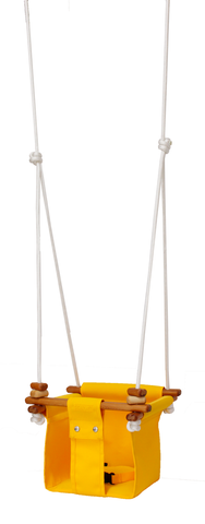 Solvej Baby & Toddler Swing - Kowahi Yellow - Naked Baby Eco Boutique