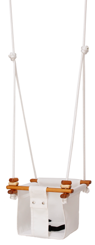 Solvej Baby & Toddler Swing - Merino White - Naked Baby Eco Boutique