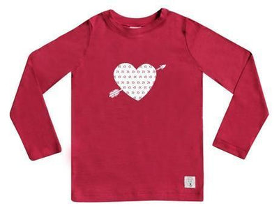 5 / Raspberry Three Bags Full Heart Breaker Shirt - Naked Baby Eco Boutique