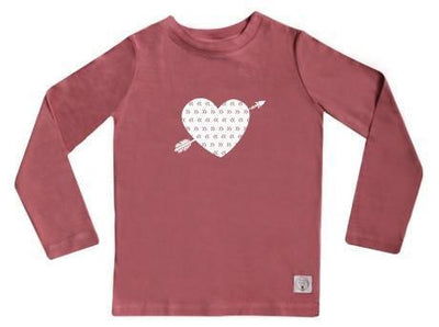 5 / Rose Three Bags Full Heart Breaker Shirt - Naked Baby Eco Boutique