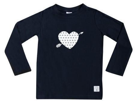 Three Bags Full Heart Breaker Shirt - Naked Baby Eco Boutique - New Zealand Eco Friendly Organic Baby Products - 1