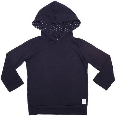 Three Bags Full Polka Dot Hoodie - Naked Baby Eco Boutique - New Zealand Eco Friendly Organic Baby Products