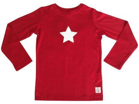 1 / Red Three Bags Full Superstar Shirt - Naked Baby Eco Boutique