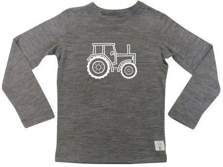 Three Bags Full Tractor Shirt - Naked Baby Eco Boutique - New Zealand Eco Friendly Organic Baby Products - 1