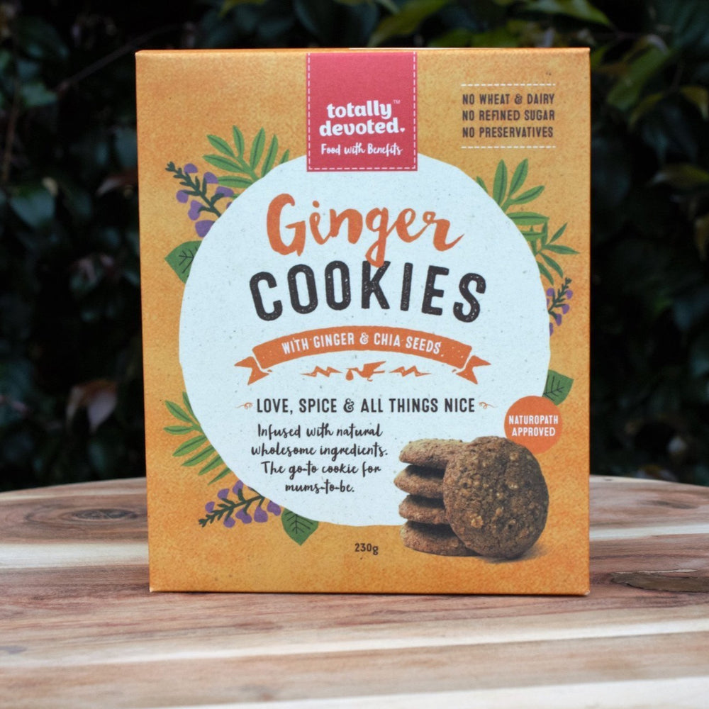 Totally Devoted Ginger Cookies - Naked Baby Eco Boutique