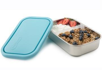 Sky U-Konserve Divided Rectangle Food Storage Container - Naked Baby Eco Boutique