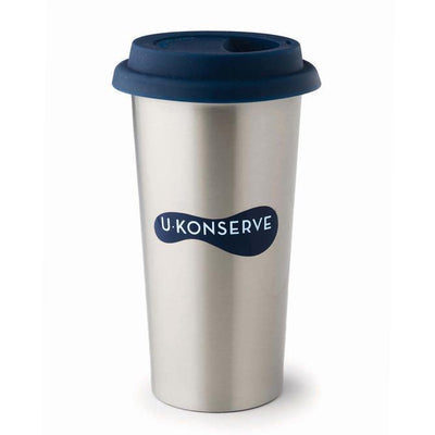 Navy U-Konserve Stainless Steel Insulated Coffee Cup (Multiple Variants) - Naked Baby Eco Boutique