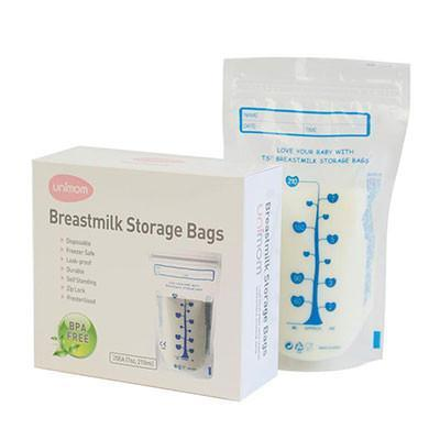 30 Bags/Box Unimom Breast Milk Storage Bags - Naked Baby Eco Boutique
