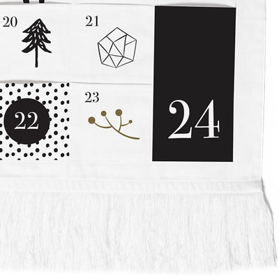 Wee Gallery Organic Cotton Advent Calendar - Naked Baby Eco Boutique