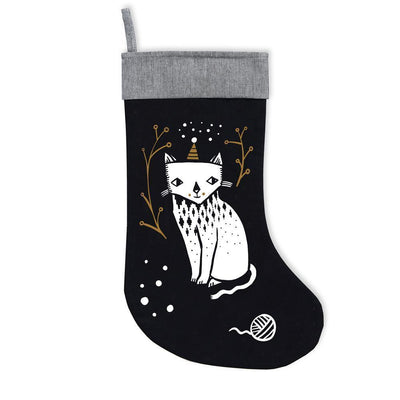 Kitty Love Wee Gallery Organic Cotton Christmas Stockings (Multiple Variants) - Naked Baby Eco Boutique