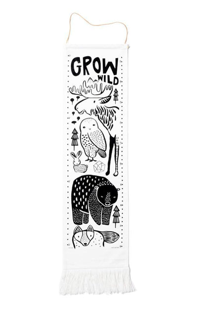 Nordic Wee Gallery Organic Cotton Growth Chart (Multiple Variants) - Naked Baby Eco Boutique