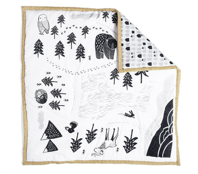 Explore Wee Gallery Organic Playmats - Naked Baby Eco Boutique