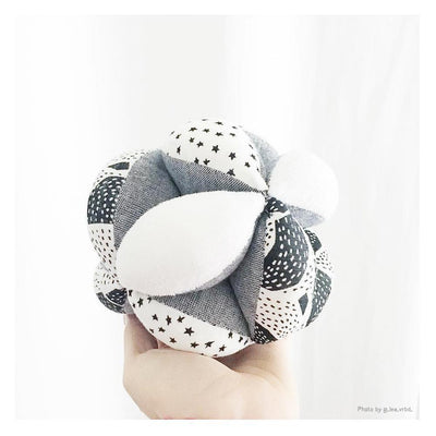 Wee Gallery Organic Sensory Puzzle Ball - Naked Baby Eco Boutique