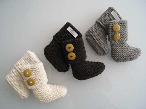 Weebits Chunky Boots - Naked Baby Eco Boutique - New Zealand Eco Friendly Organic Baby Products - 1