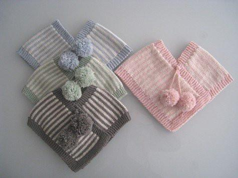 Weebits Knitted Poncho - Naked Baby Eco Boutique - New Zealand Eco Friendly Organic Baby Products - 1