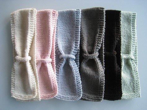 Chocolate / 0-12 Months Weebits Loop Scarf - Naked Baby Eco Boutique