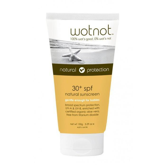 WOTNOT 30+ SPF Sunscreen - Naked Baby Eco Boutique - New Zealand Eco Friendly Organic Baby Products