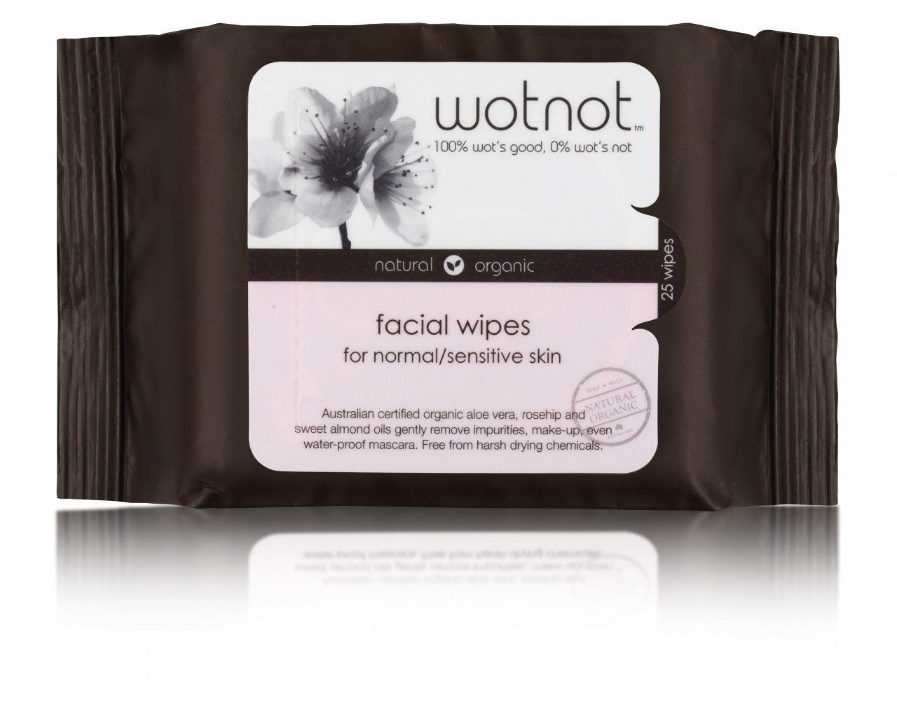 WOTNOT Natural Organic Facial Wipes - Naked Baby Eco Boutique