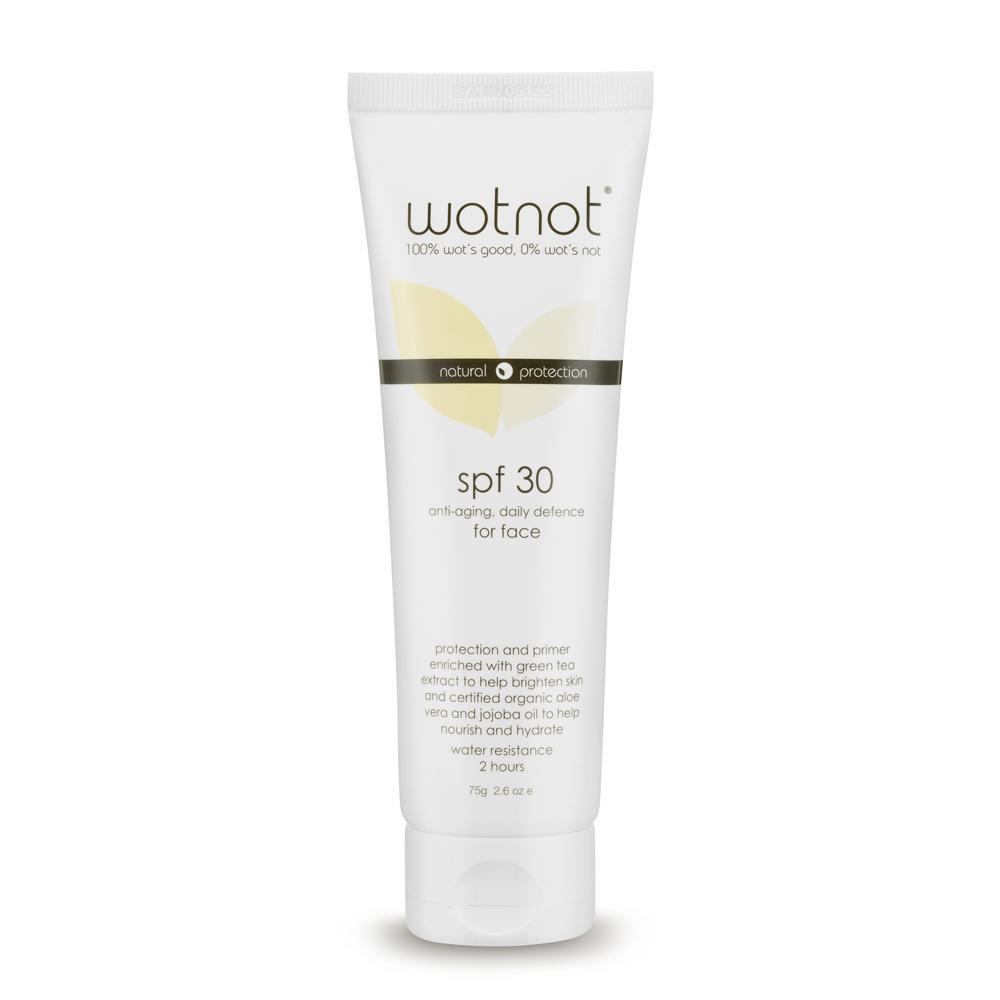 WOTNOT Natural Sunscreen for Face - Naked Baby Eco Boutique