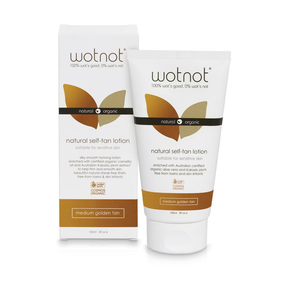 WOTNOT Organic Self Tanning Lotion - Naked Baby Eco Boutique
