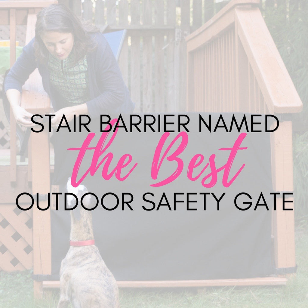 The Stair Barrier Name No. 1 Outdoor Safety Gate