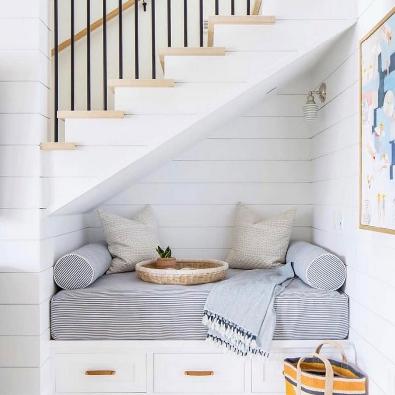 Creative Ideas for the Space Under the Stairs
