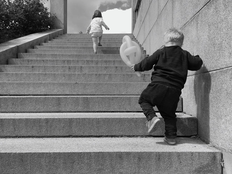 Tips and Tricks on How to Teach a Toddler to Climb Stairs