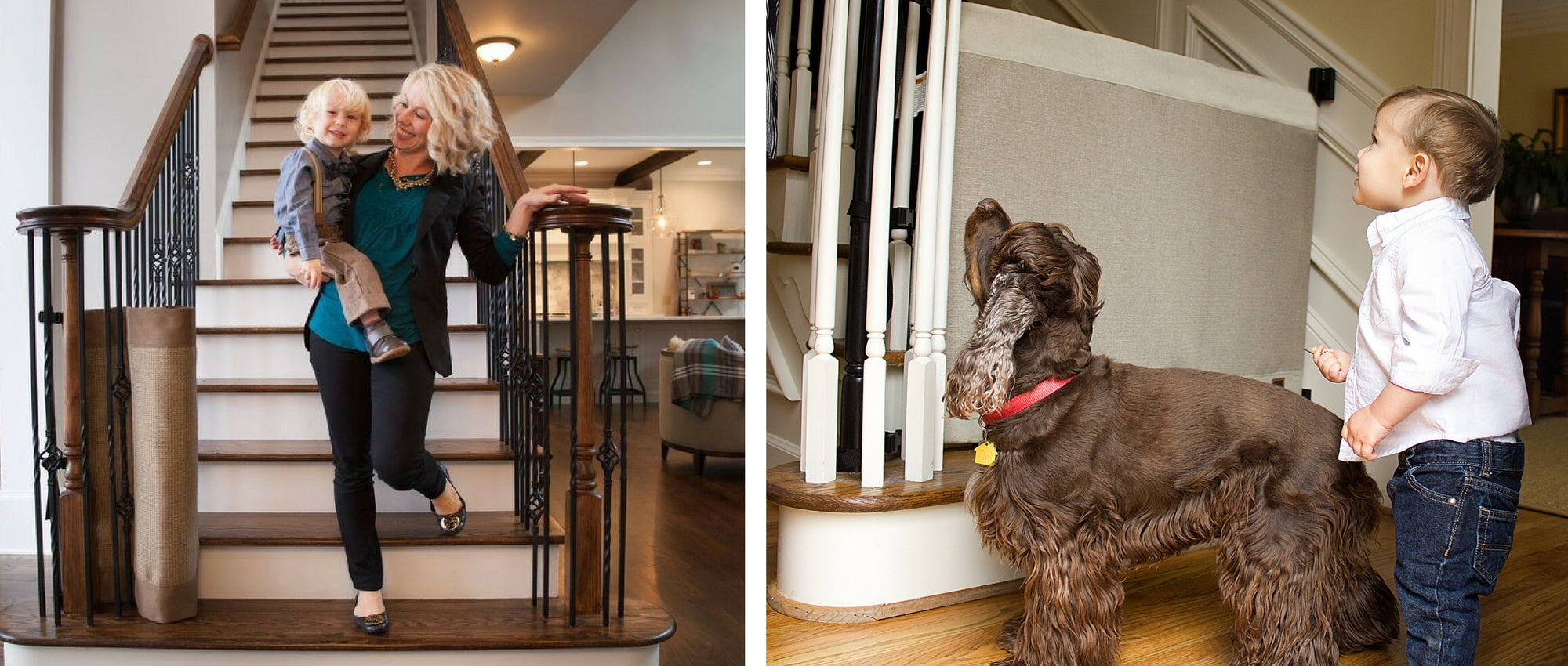 Stair Barrier | Pet U0026 Child Safety Gates For Stairs | Made In The USA